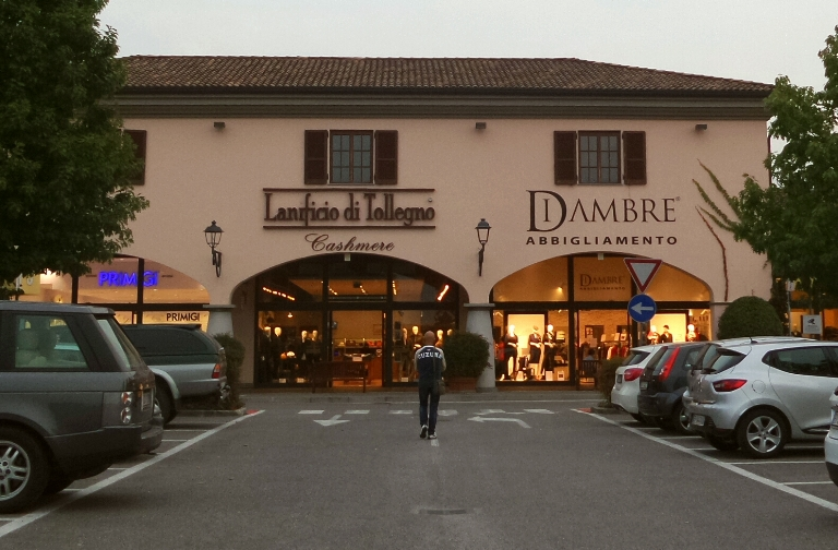шоппинг в бергамо, магазины в Бергамо, Бергамо аутлет