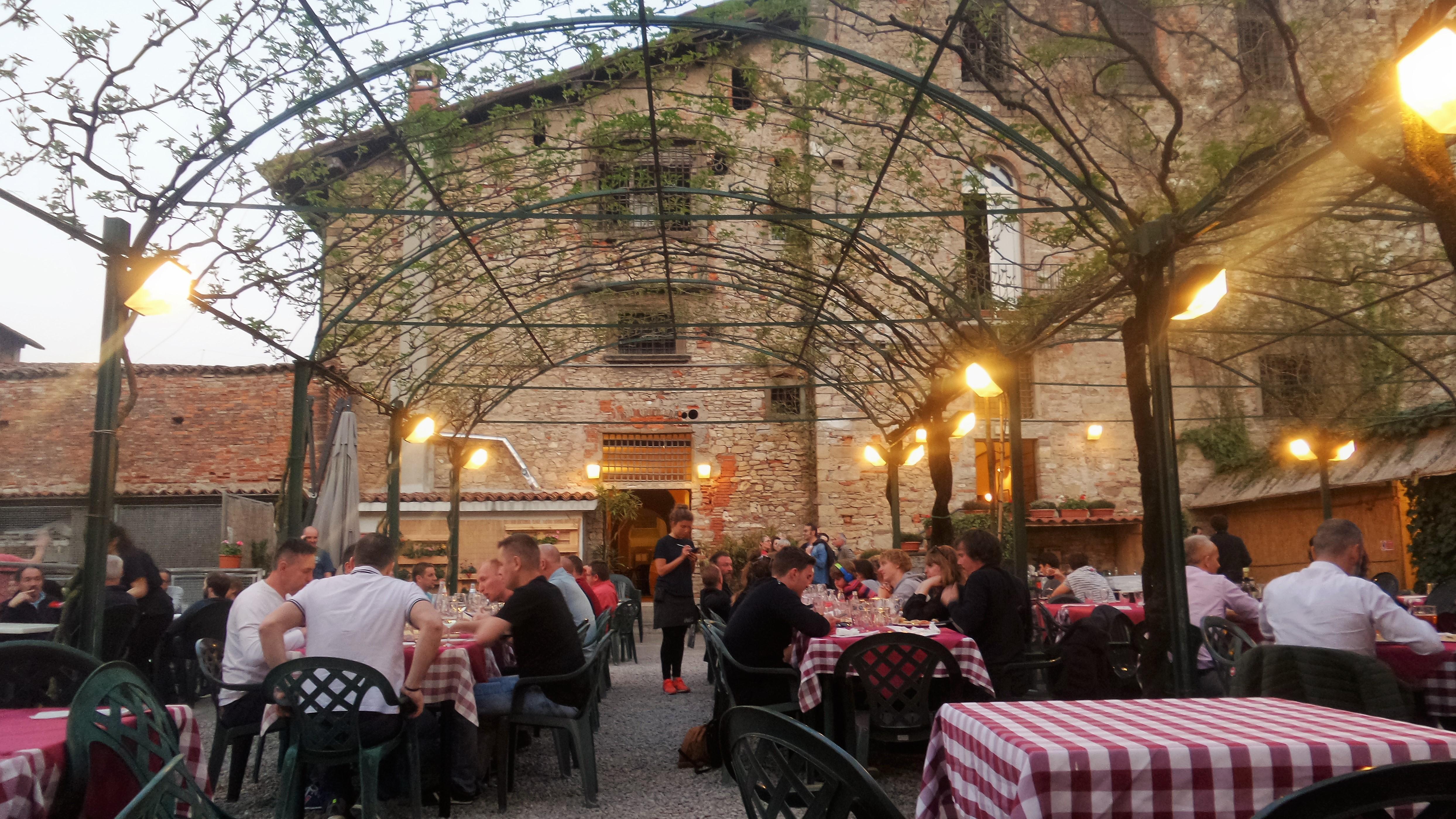 Где поесть в Бергамо в Верхнем городе — Il Circolino