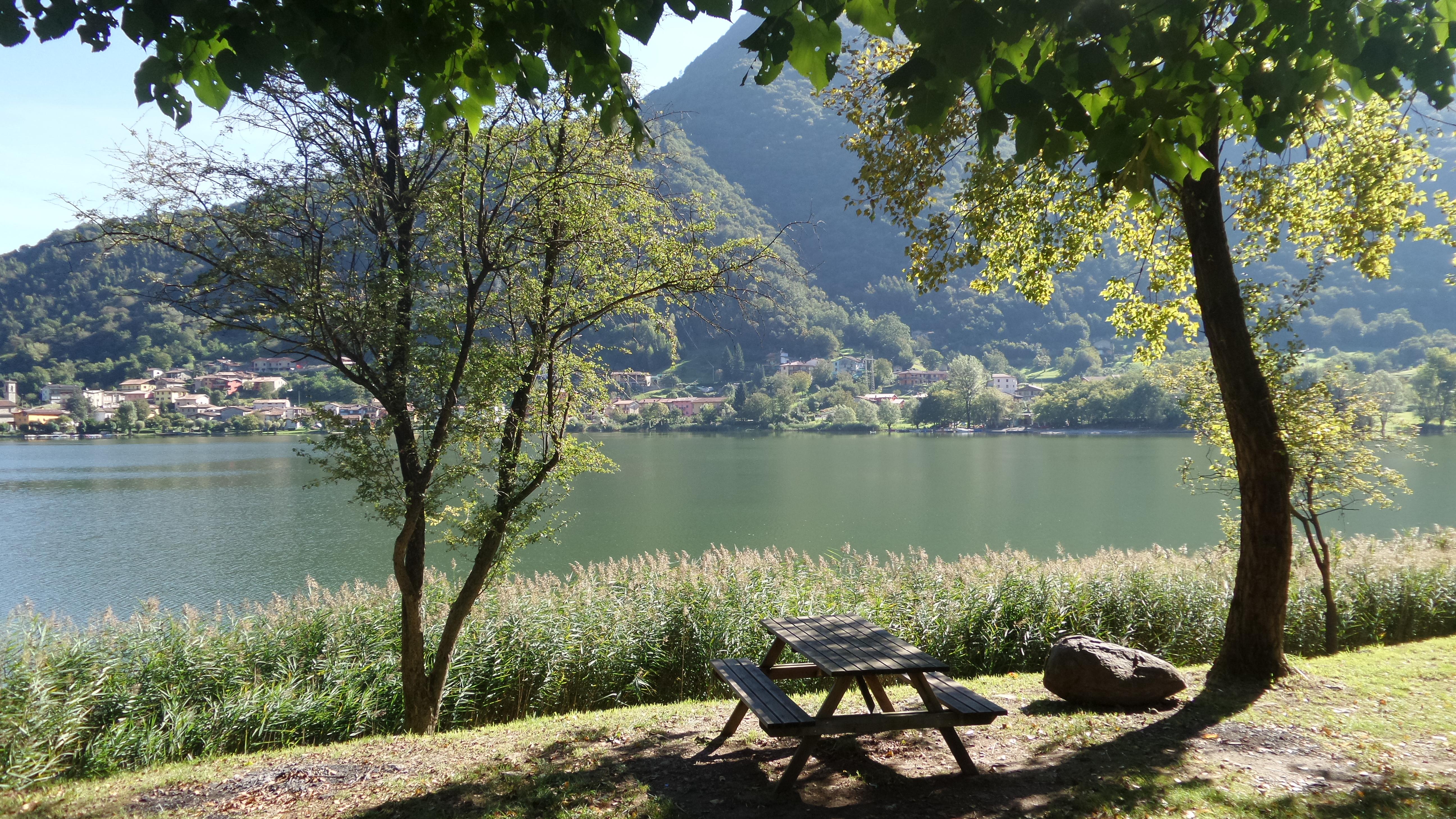 Что посмотреть рядом с Бергамо – озеро Эндине